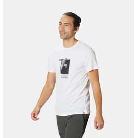 Mountain Hardwear Straight Up - Camiseta manga corta Hombre - blanco